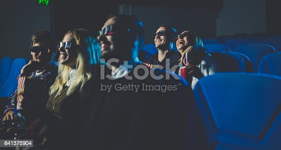 187095683 istock photo People in cinema smiling 641375904