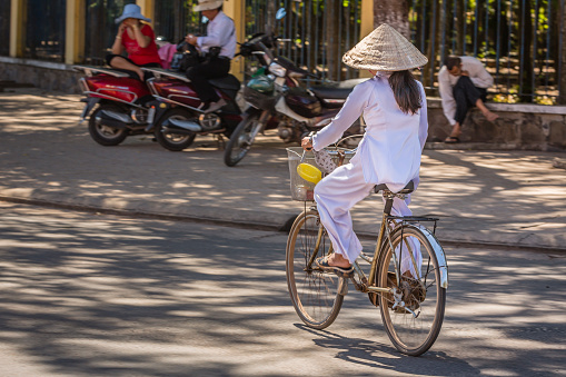 People in Ho Chi Minh (Saigon) streets