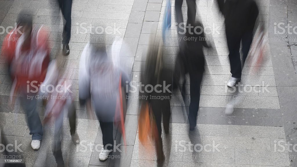 People in Motion Series stock photo