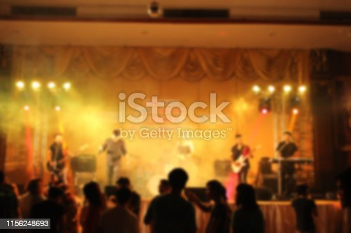 860440036istockphoto People in parties or celebrations blur at night. 1156248693