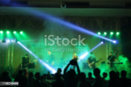 860440036istockphoto People in parties or celebrations blur at night. 1156249469