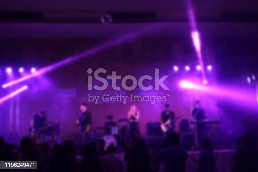 860440036istockphoto People in parties or celebrations blur at night. 1156249471