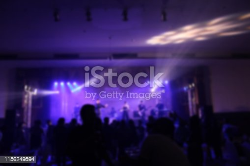 860440036istockphoto People in parties or celebrations blur at night. 1156249594