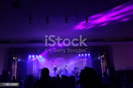 860440036istockphoto People in parties or celebrations blur at night. 1156249597