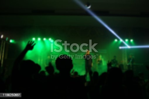 860440036istockphoto People in parties or celebrations blur at night. 1156250851