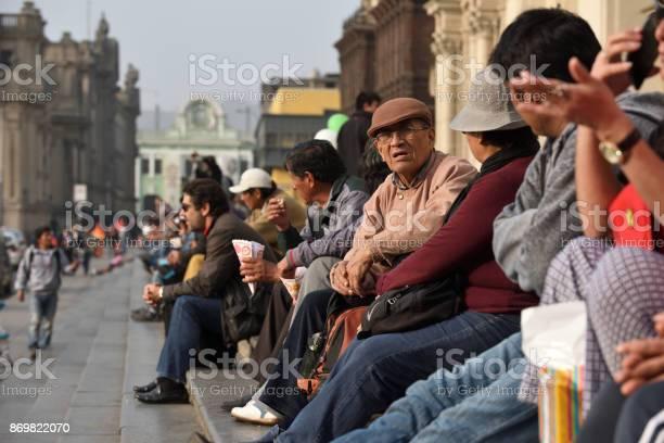 People in street of lima peru picture id869822070?b=1&k=6&m=869822070&s=612x612&h=atrhidiuo192y7qmxtl ha yqdn5zo6g7z0xjedzgdm=
