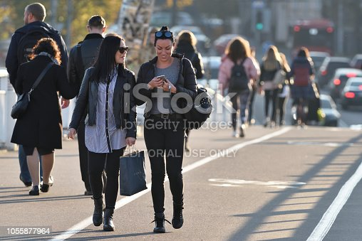 863454090istockphoto People in Vilnius Old Town 1055877964