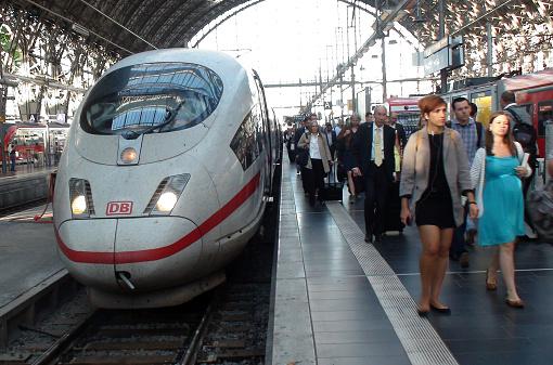 Frankfurt Hbf Ankunft