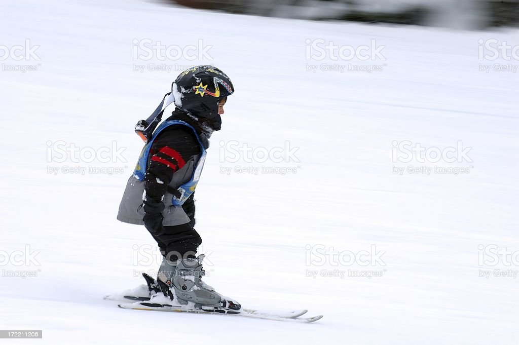People : Munchkin Ski Race stock photo