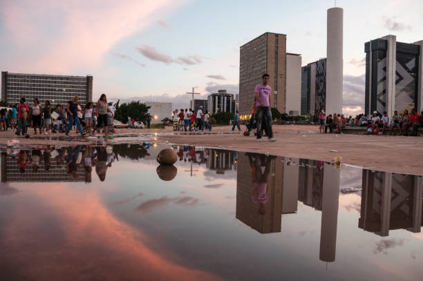 People of Brazil stock photo