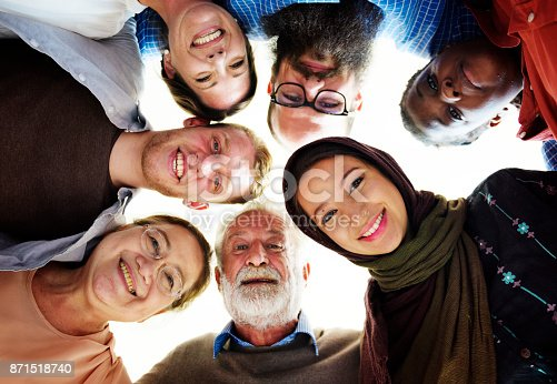 istock People of different ages and nationalities having fun together 871518740