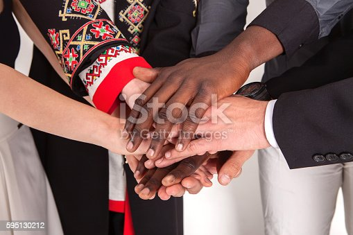 istock People of different nationalities. friendship, communication, teamwork, education, recruitment. 595130212