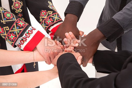 istock People of different nationalities. friendship, communication, teamwork, education, recruitment. 595131058