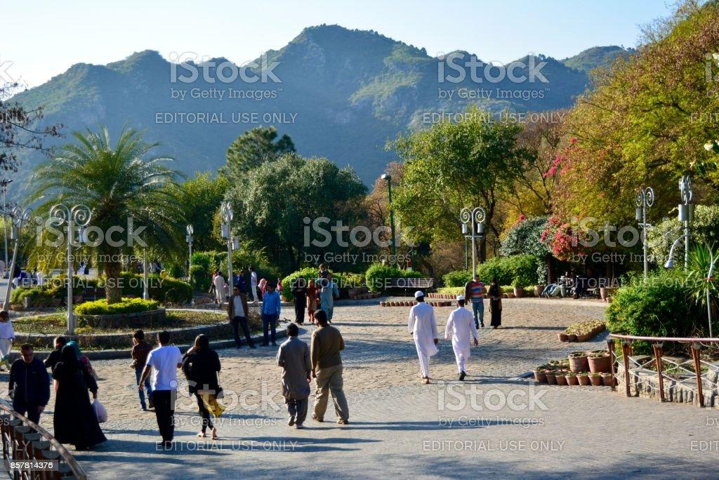 People of Pakistan, Islamabad stock photo