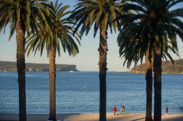 People on Balmoral Beach.