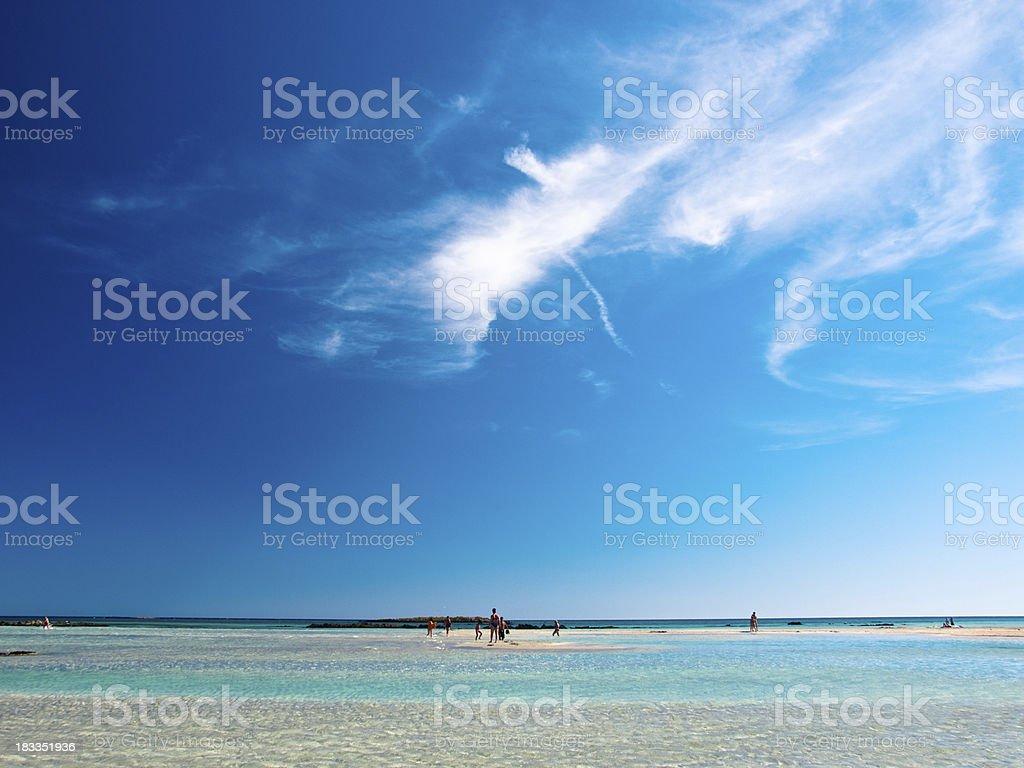 Menschen am Strand – Foto