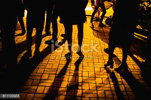 613897214istockphoto people on the street with music and dances 911122024