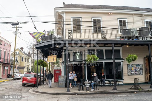 938895626 istock photo People outside R Bar in Marigny in New Orleans 1137621442