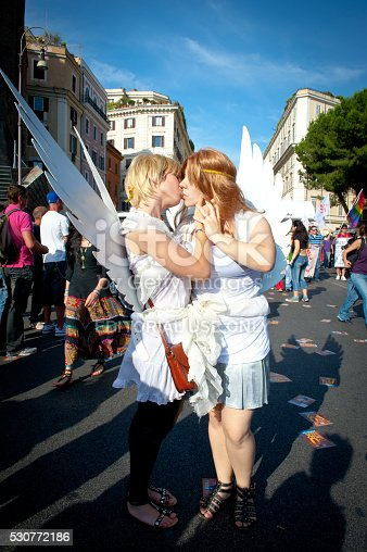 istock People partecipating at 2011 euro Rome gay pride 530772186