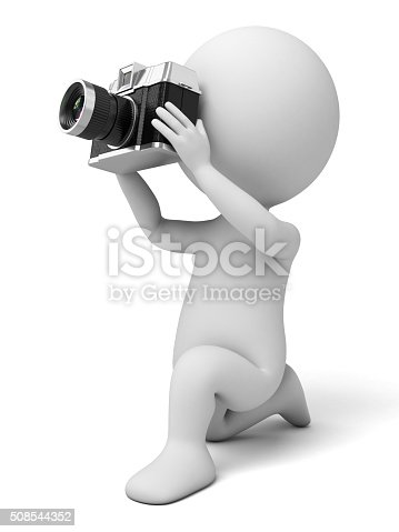 The 3d guy and a camera
