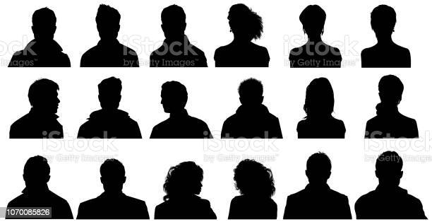 Photo of People Profile Silhouettes