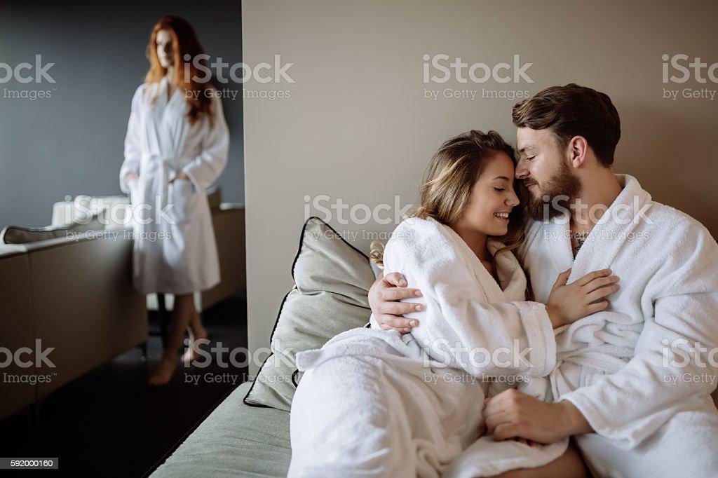 People relaxing in luxury ストックフォト