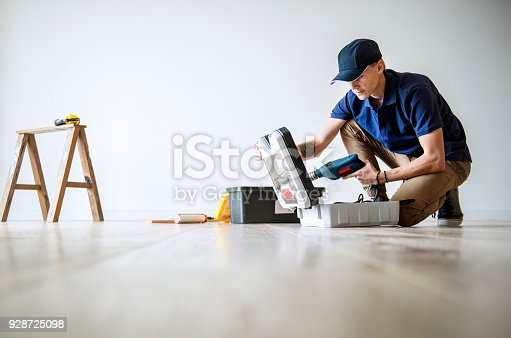 istock People renovating the house concept 928725098