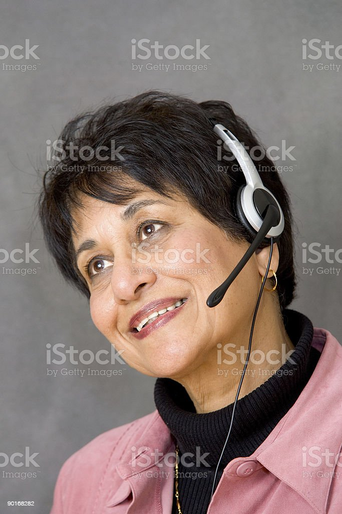 People - Senior East Indian Woman #14 royalty-free stock photo