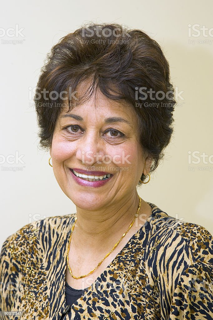 People - Senior East Indian Woman #15 royalty-free stock photo