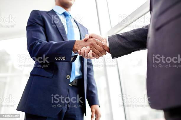 People Shaking Hands Stock Photo - Download Image Now