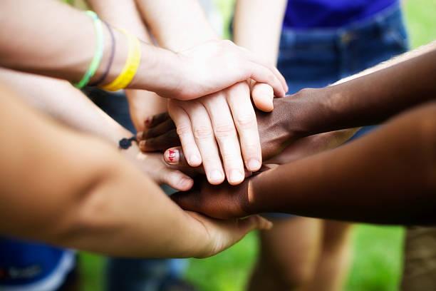 Menschen, die Einheit – Foto