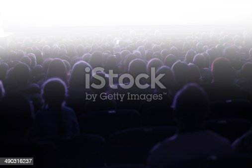 istock People sitting in an audience 490316237