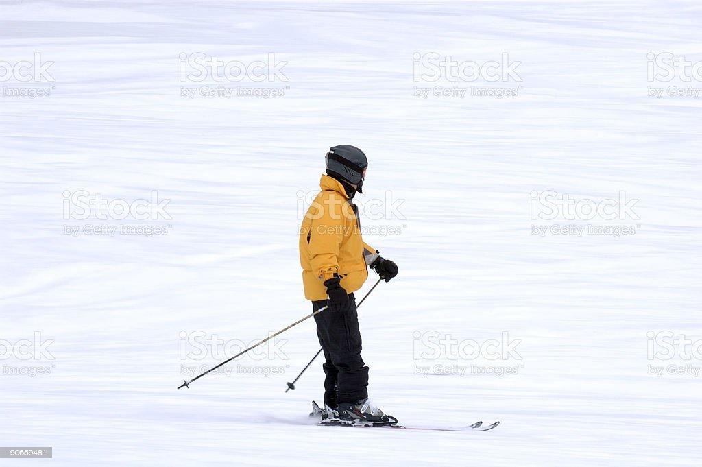 People : Skier stock photo