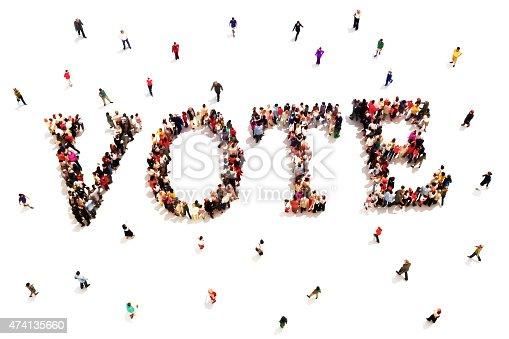 1157022917 istock photo People that vote. 474135660