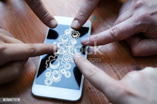 995213208 istock photo People using cellphone 905667078
