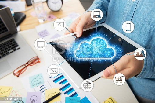 494924670 istock photo People using digital tablet and information communication technology concept 1011810014