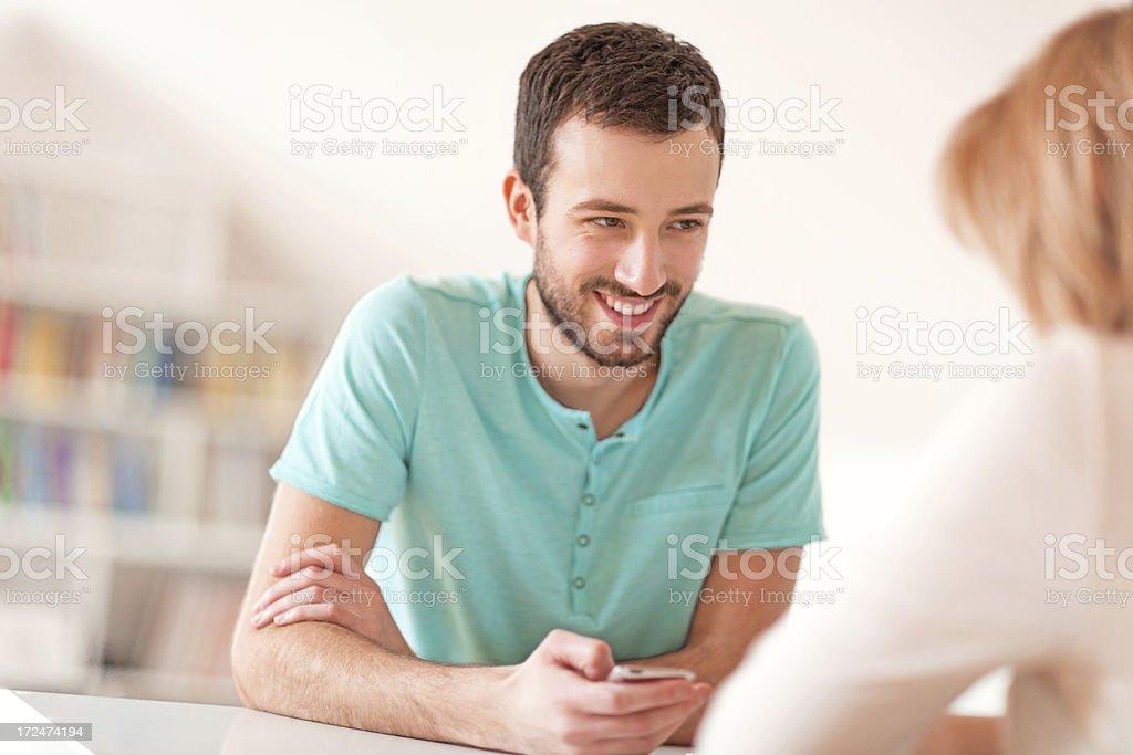 People using smart phones royalty-free stock photo