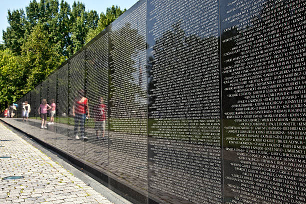 91 Vietnam Veterans Memorial Wall Stock Photos Pictures Royalty Free Images Istock