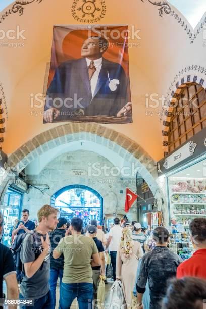 Люди Ходят В Специи Или Египетский Базар — стоковые фотографии и другие картинки Базар