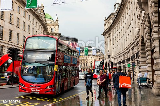 istock People walking on Regent Street in London 804702674
