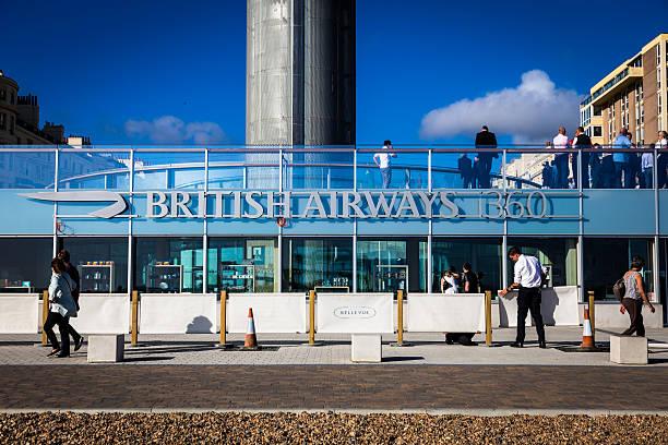 People walking outside british airways i360 tower in brighton uk picture id607983608?b=1&k=6&m=607983608&s=612x612&w=0&h= bi orux3wcql78q5224vpirei7x28cnwcv utijlka=