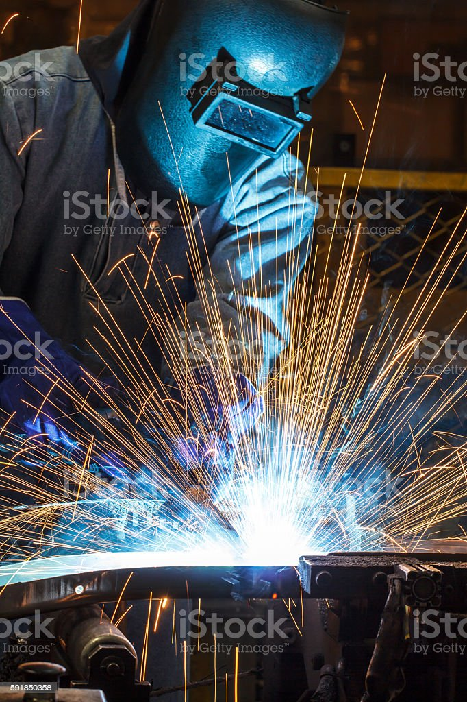 people welding industry – Foto