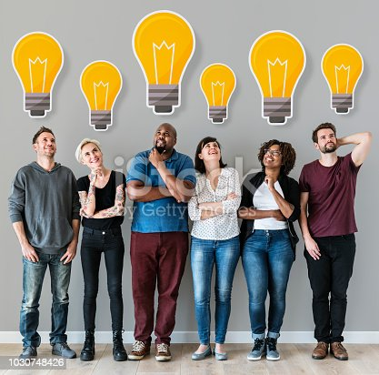 istock People with lightbulb icon 1030748426