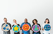 istock People with social media concept 951408450