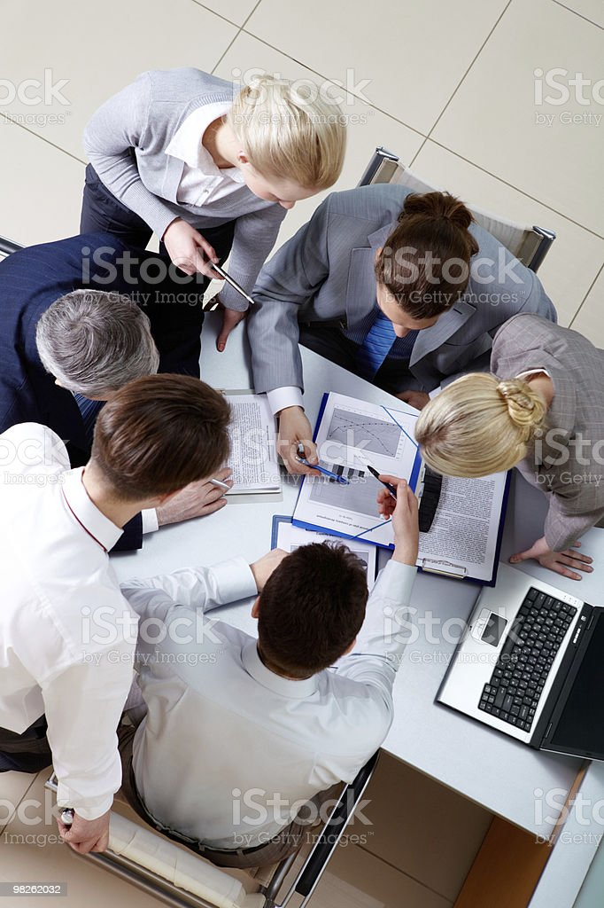 People working royalty-free stock photo