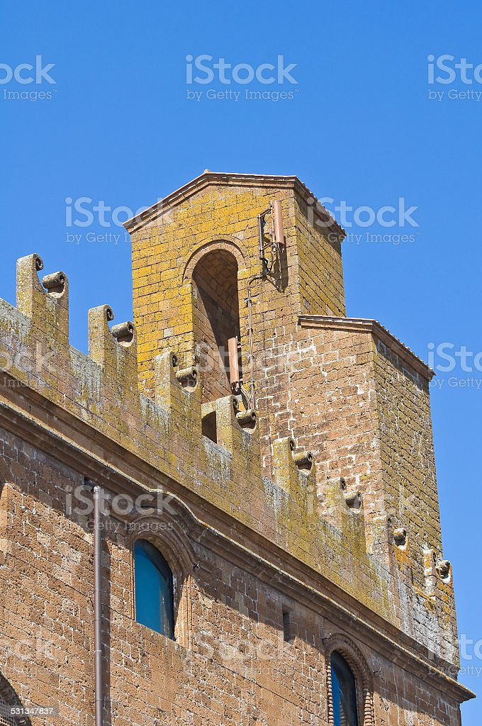People's palace. Orvieto. Umbria. Italy. stock photo