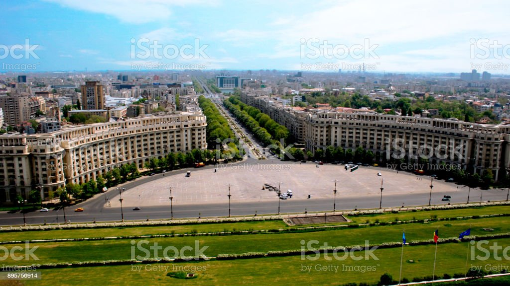 Peoples Palace - Romania stock photo