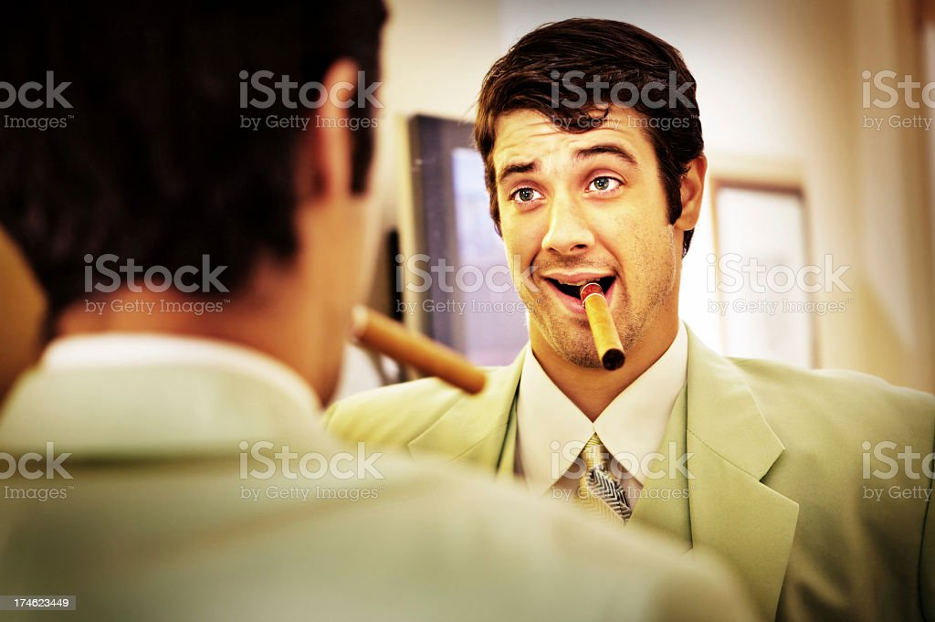 Pep Talk stock photo