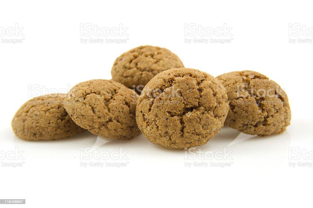 pepernoten (ginger nuts) in closeup - Royalty-free Close-up Stockfoto