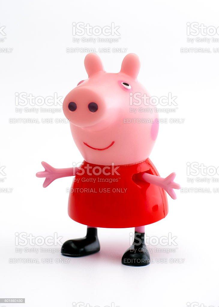Peppa Pig stock photo